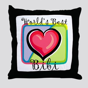 WB Grandma [Uzbek] Throw Pillow